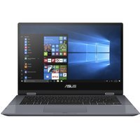 "Laptop Asus TP412FA-OS31TDX i3-8145U/14"" FHD TouchScreen/4GB/SSD 128GB/BT/x360/BLKB/FPR/Win 10 Grey"