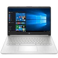 "Laptop HP 14-DQ1043CL i3-1005G1/14"" FHD/8GB/SSD 256GB/BT/BLKB/Win 10 Silver"