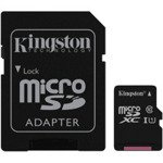 Karta pamięci microSDXC 64GB Class 10 + adapter Kingston
