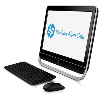 "AiO HP 23-B010 E2-1800/23"" FHD/6GB/500GB/DVDRW/Keyboard+Mouse/Win 10"