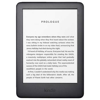 "Czytnik e-Booków Amazon Kindle 10 2019/6""/WiFi/8GB/special offers/Black"