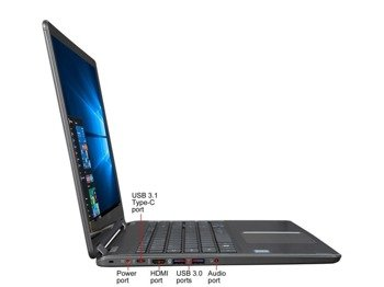 "Laptop Acer R5-571T-59DC i5-6200U/15.6"" FHD TouchScreen/8GB/SSD 240GB/Keyboard Backlight/x360/Win 10"