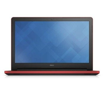 "Laptop Dell I17-5755A A8-7410U/17.3""/12GB/2TB/DVD/BT/BLK/Win 8.1 Red"