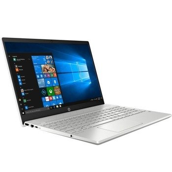 "Laptop HP 15-CS1065CL i5-8265U/15.6"" FHD TouchScreen/16GB/BT/BLKB/Win 10 Silver"