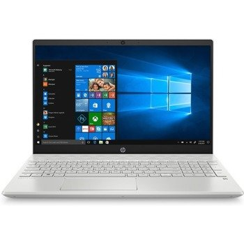 "Laptop HP 15-CS1065CL i5-8265U/15.6"" FHD TouchScreen/8GB/SSD 256GB/BT/BLKB/Win 10 Silver"