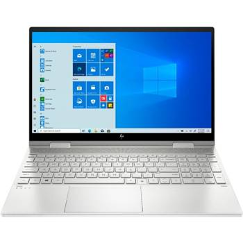 "Laptop HP Envy 15M-ED0013D i5-1035G1/15.6"" FHD TouchScreen/16GB/SSD 512GB/BT/BLKB/FPR/x360/Win 10 Silver"