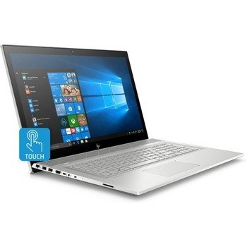 "Laptop HP Envy 17M-CE0013 i7-8565U/17.3"" FHD TouchScreen/12GB/SSD 512GB + 32GB Intel Optane Memory/DVD/BT/BLKB/FPR/GeForce MX250 2GB/Win 10"