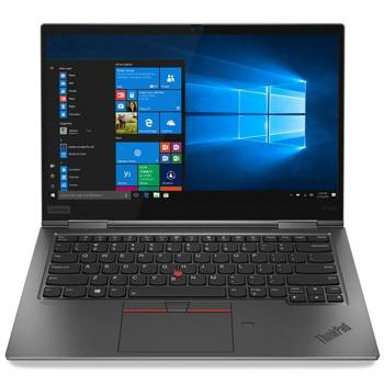 "Laptop Lenovo ThinkPad X1 Yoga 20SAS01W00 i7-10710U/14"" FHD TouchScreen/16GB/SSD 1TB/BT/BLKB/FPR/x360/Win 10 Pro Gray"