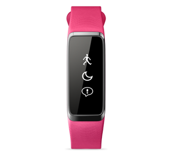 "Smartband Acer Liquid Leap - 1"" (128x32) Touchscreen/Bluetooth/LE/IPX7/Waterproof/Supports/IOS/Android/Pink"